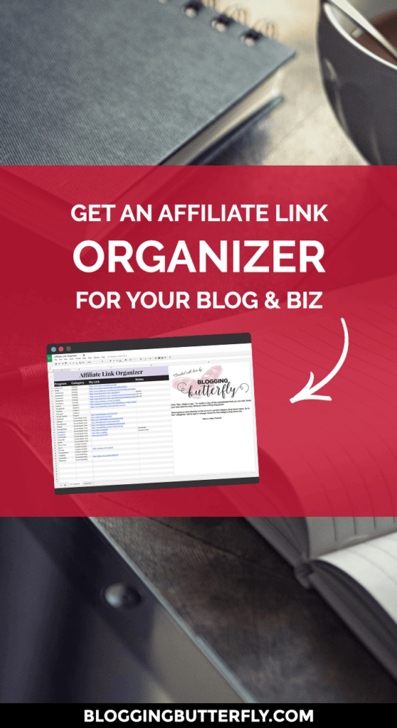 Free Affiliate Link Organizer - Download now! | Blogging Tools