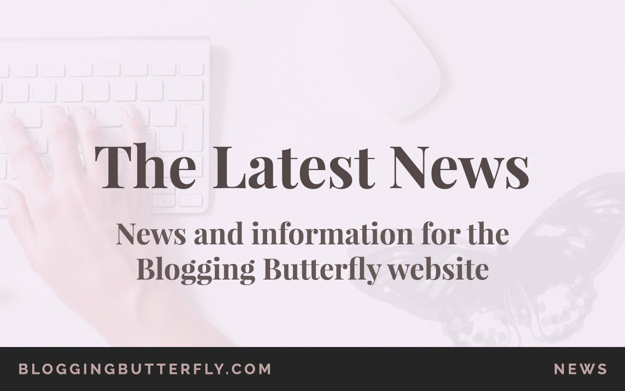 Blogging Butterfly News