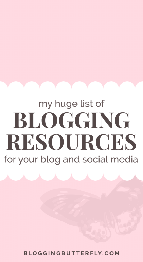 Over 80 blogging resources and tools