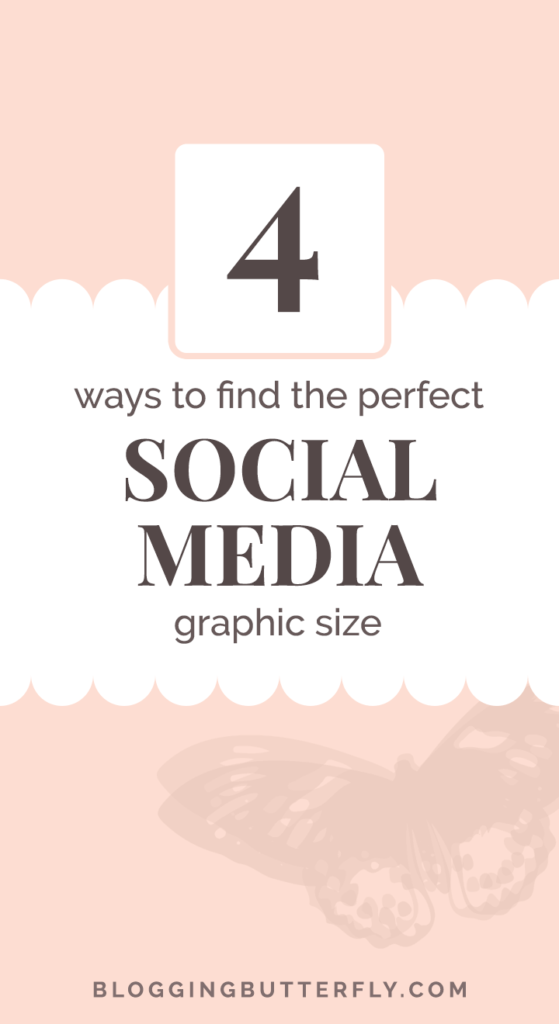 Where to find sizes for social media graphics easily