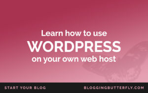 Free how to use WordPress workshop