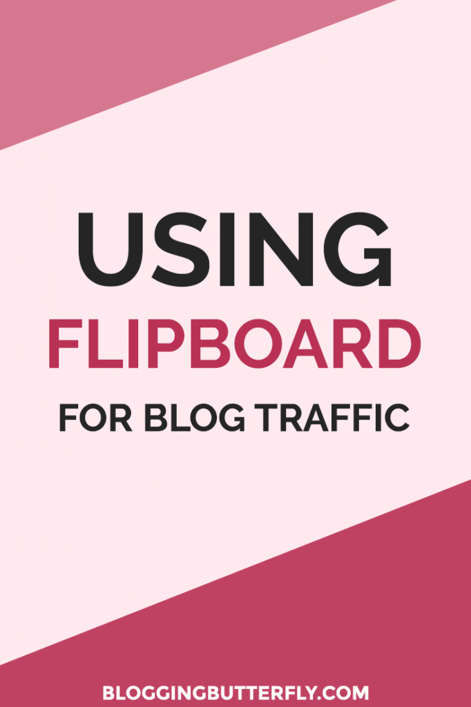 Flipboard tips for bloggers: Use Flipboard to generate traffic to your blog. Read this and more blogging tips for beginners: https://bloggingbutterfly.com/flipboard-for-bloggers/?utm_source=pinterest&utm_campaign=flipboard-for-bloggers&utm_medium=blog_link&utm_content=image10