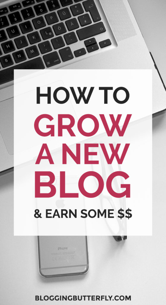 Blogging Tips for Beginners: Grow your blog and set it up to start earning money. Don't wait! Start now so you don't miss out on opportunities down the line.