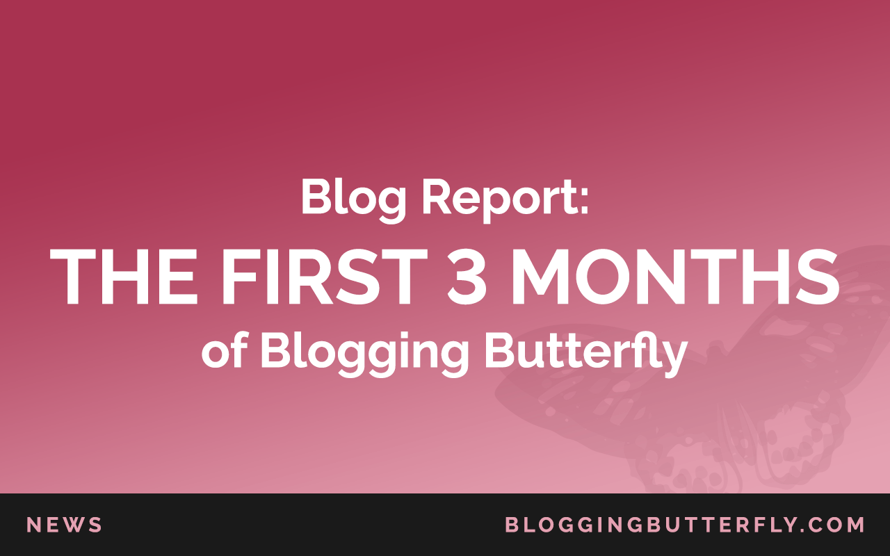 See what happened during the first 3 months of Blogging Butterfly. How I got traffic to a brand new blog, how I made my first affiliate sales, and what I plan to do in the future. Come for the report, stay for the blogging tips: https://bloggingbutterfly.com/first-months-blogging/